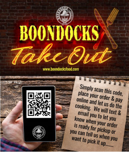 Boondocks Takeout Business Card
