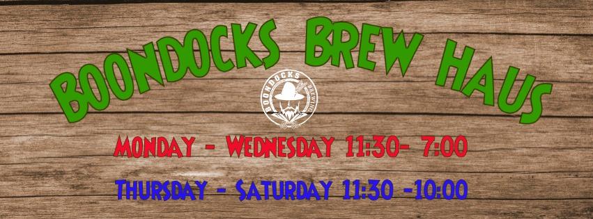 Brew Haus Hours