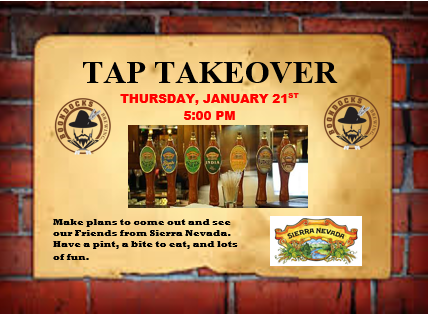 sierra nevada tap take over