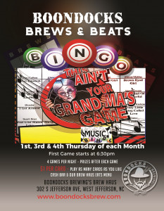 Brews & Beats Bingo 3 (1) New