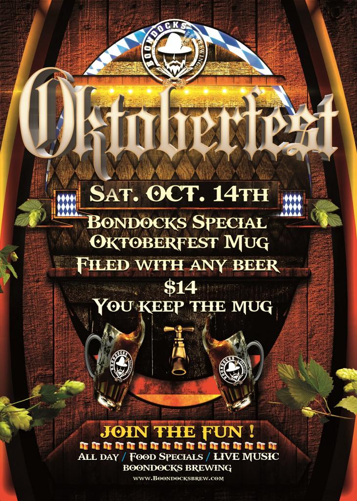 Oktoberfest Mug Special