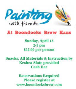 Paint Party April