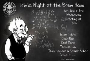 Trivia at Brew Haus