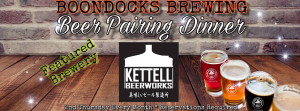 Kettell Beerworks beer pairing