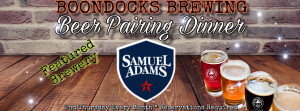 Sam Adams beer pairing